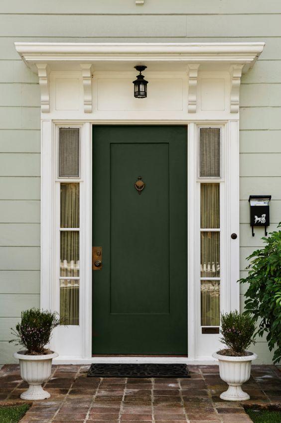 Seis colores fant sticos para pintar el exterior de tu casa - Mejor pintura para hierro exterior ...