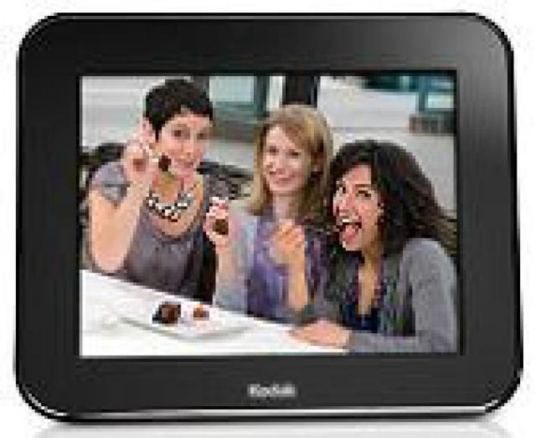 the kodak pulse photo frame provides quite a few nice options kodak - Electronic Picture Frame