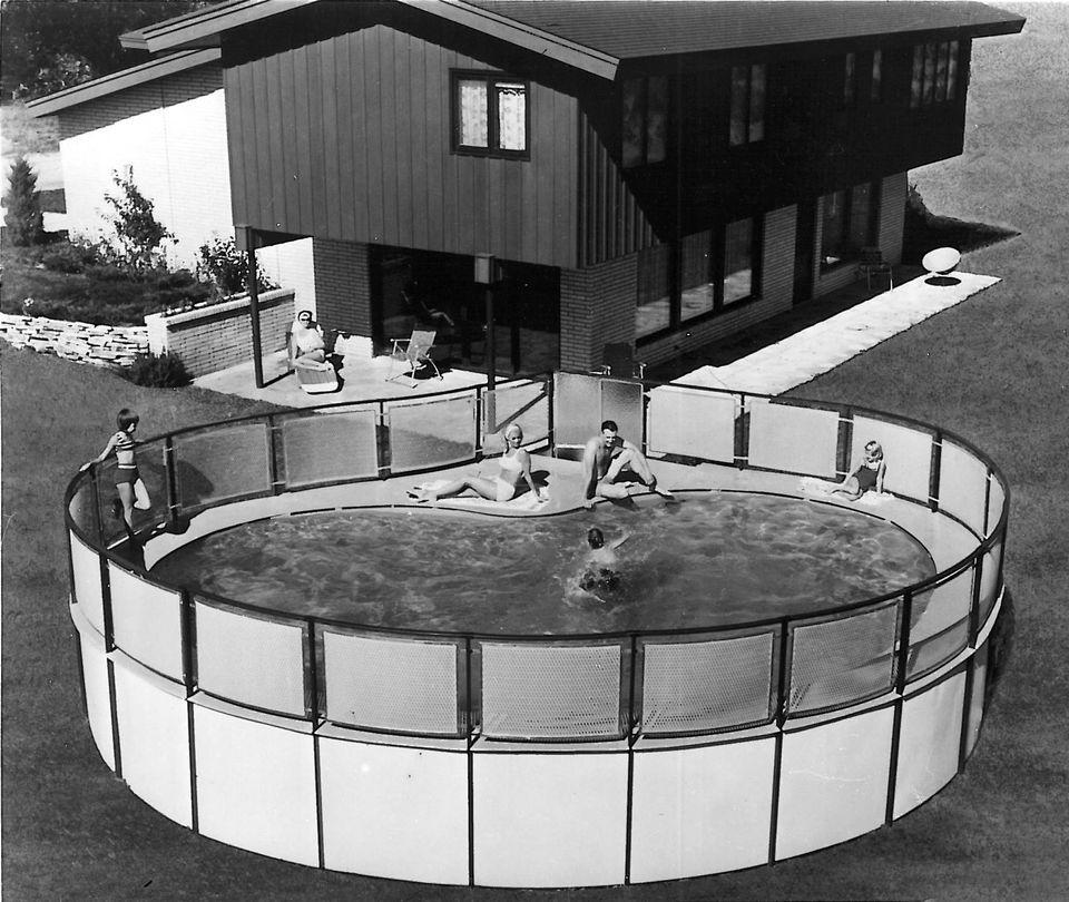 vintage doughboy pool