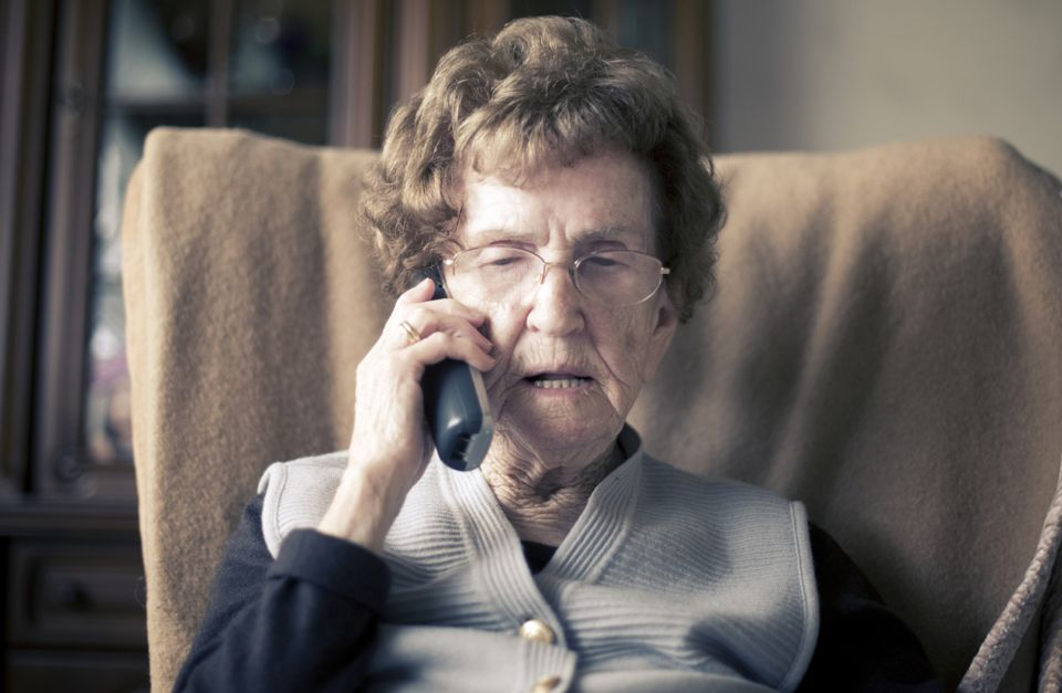 the grandparent scam begins when a grandparent is contacted by phone