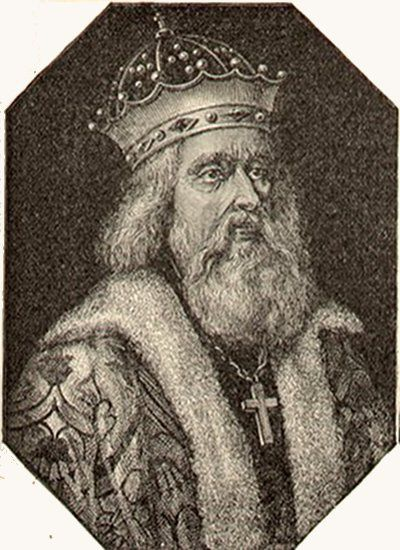 Portrait Grand Prince Alexander Nevsky from Cyclopaedia of Univeral History, published in 1884.