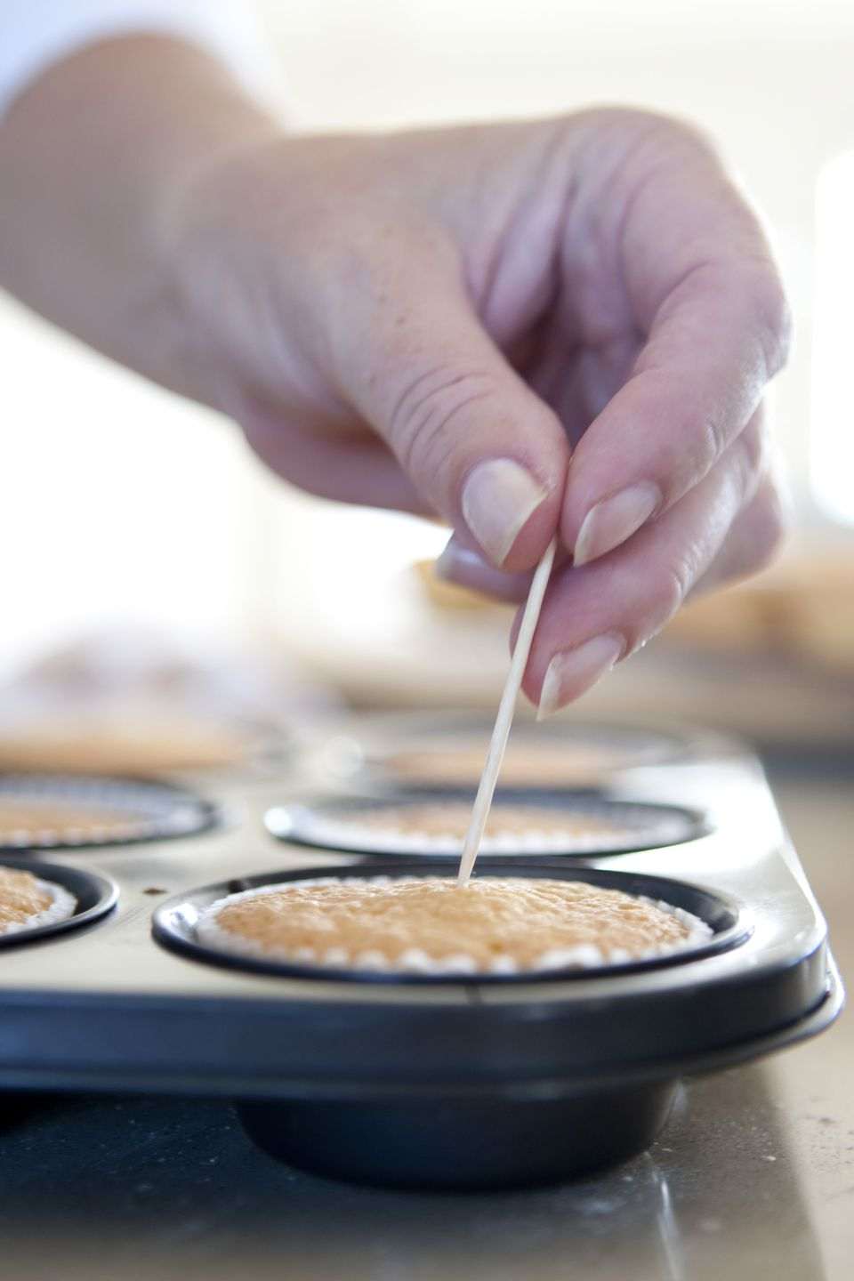 toothpick test for cupcakes