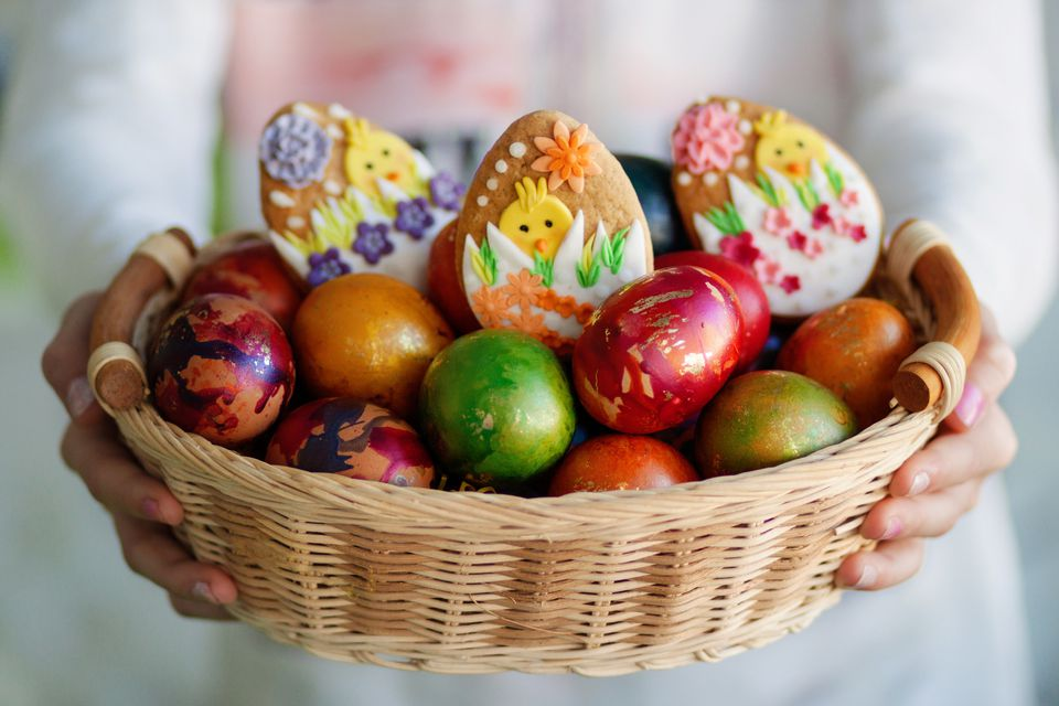 Bulgarian easter customs traditions and food bulgarian easter eggs negle Choice Image
