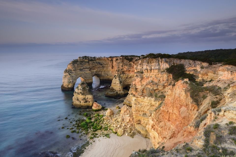 Amazing beach in Algarve, Portugal