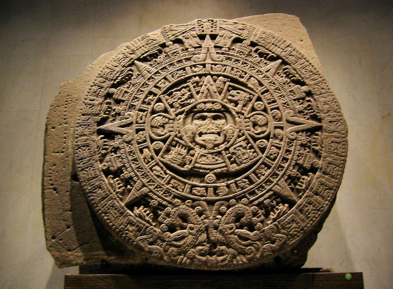 Aztec Sun Stone, National Museum of Anthropology, Mexico City