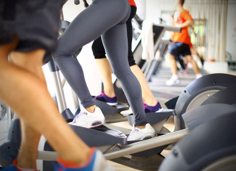 Treadmill and Elliptical