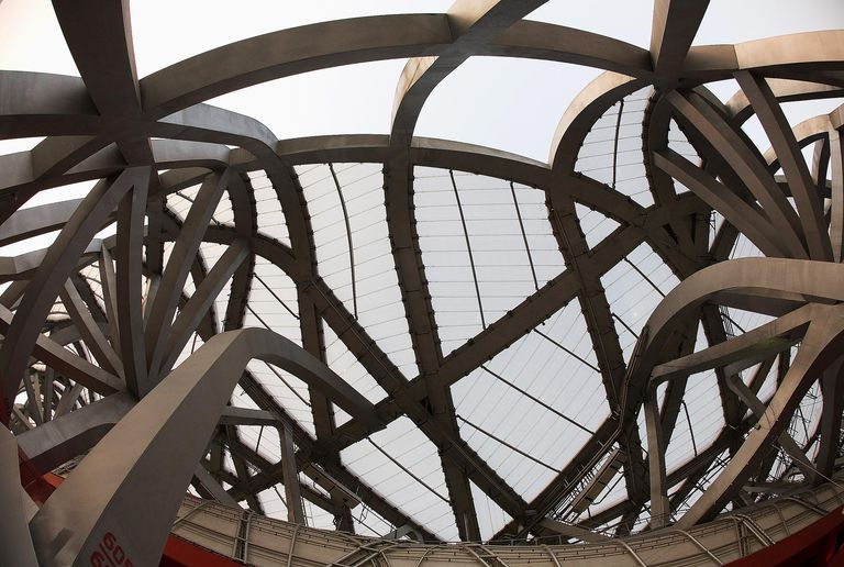 National Stadium Roof Structure, Beijing, China