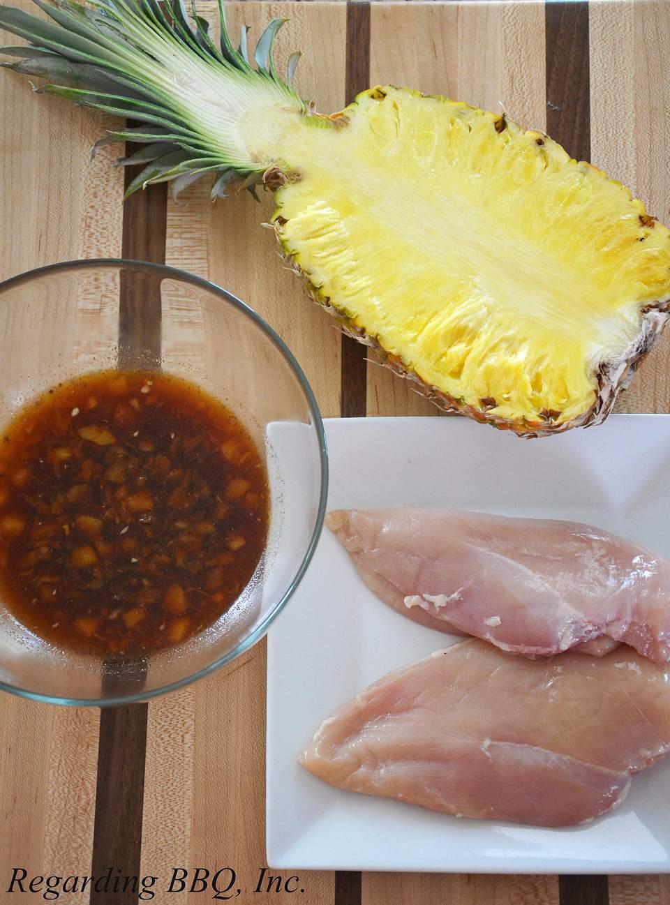 Pineapple Chicken Marinade