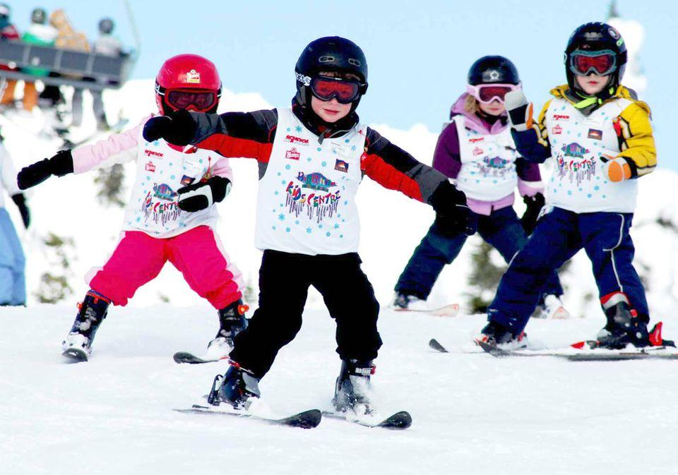 Big White Ski Resort in British Columbia with Kids