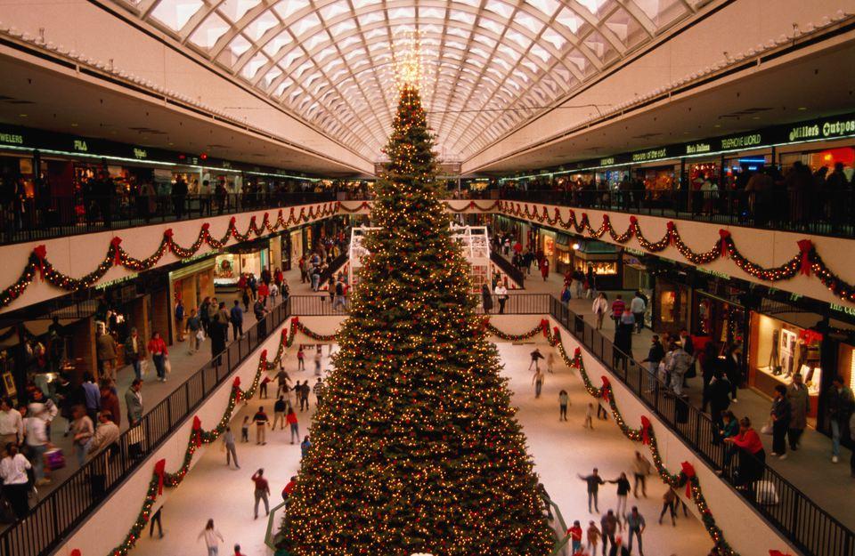 The Galleria Mall in Houston.