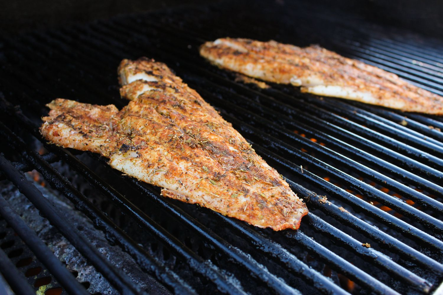 Grilled Blackened Red Snapper Recipe