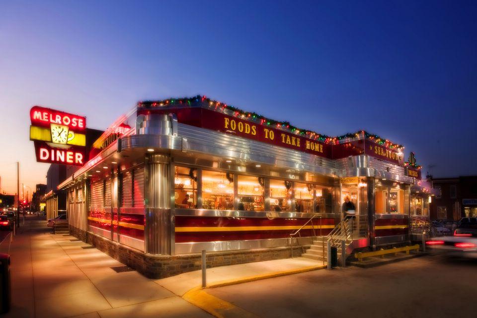 Melrose Diner Philadelphia