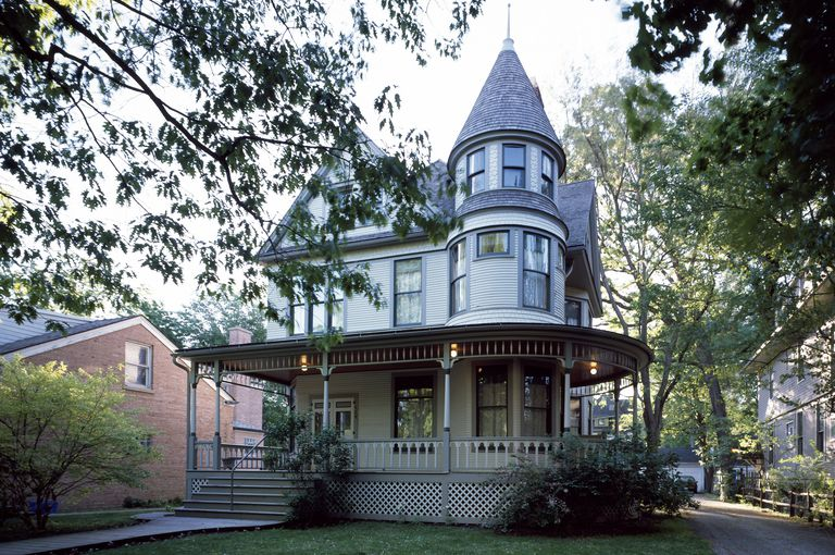 Architectural Styles, American Homes from 1600 to Today on frank gehry residential homes, frank lloyd wright residential homes, boston residential homes, art deco residential homes, richard meier residential homes, california residential homes,