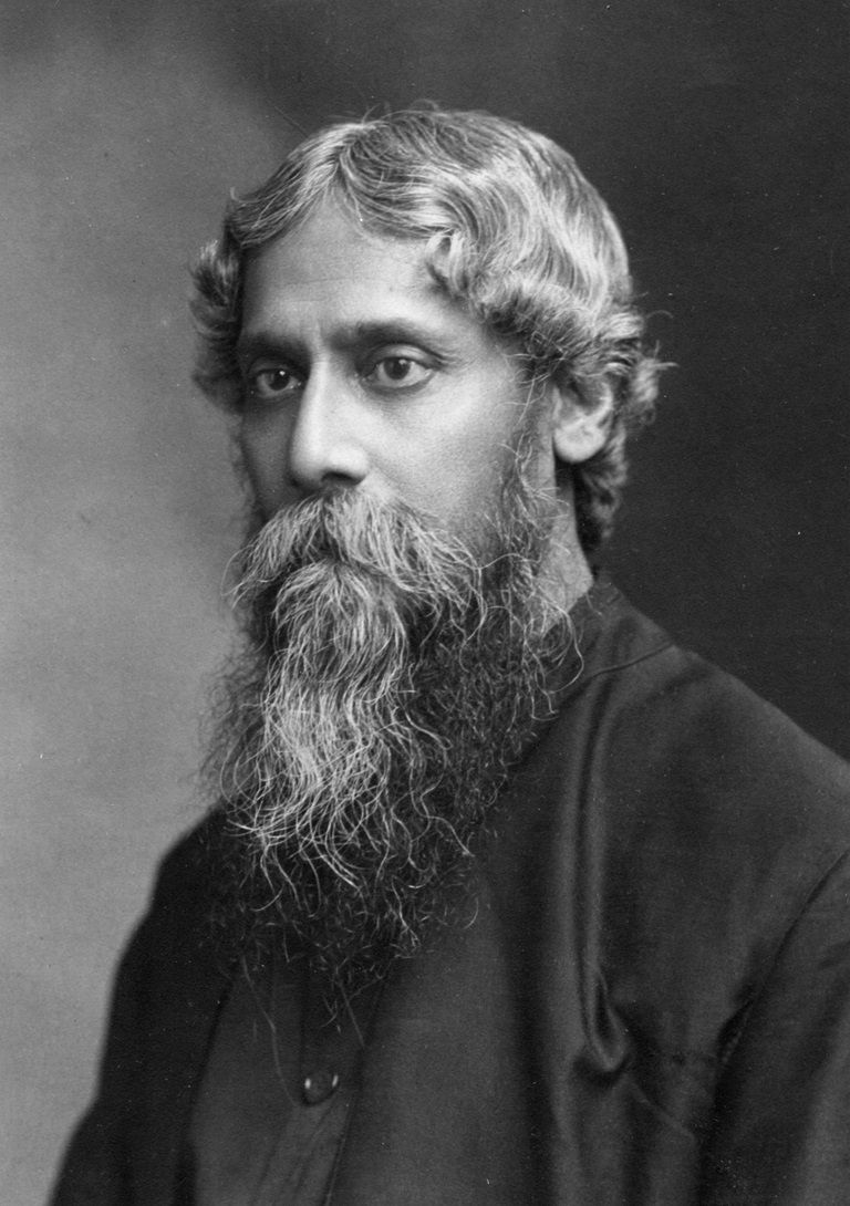 Rabindranath Tagore middle aged