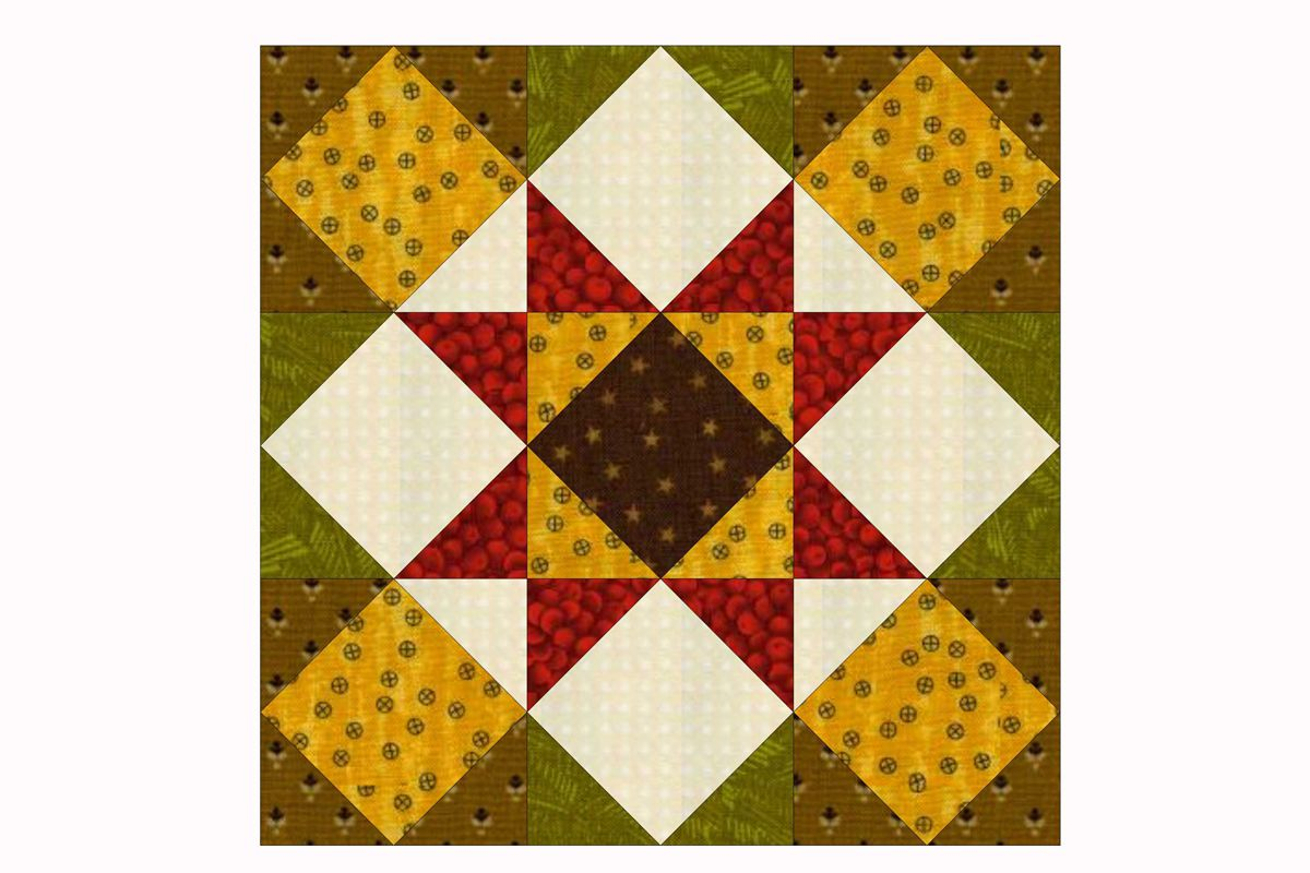 Decorate a Quilting Gift with Folded Fat Quarter Stars : folded star quilt block - Adamdwight.com