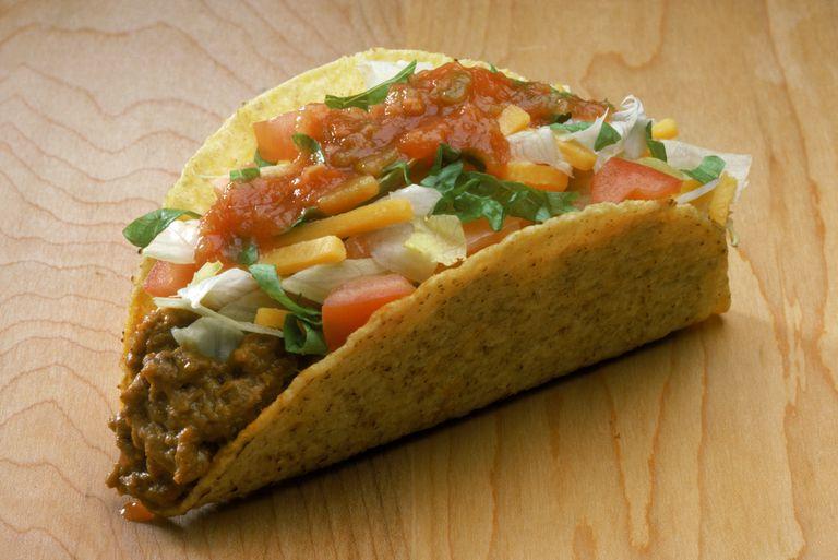 Taco Bueno nutrition facts