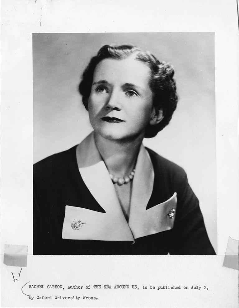 La bióloga y ecologista Rachel Louise Carson