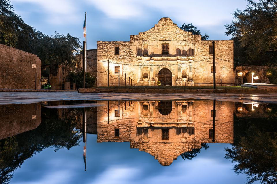 The Alamo, San Antonio, Texas, America
