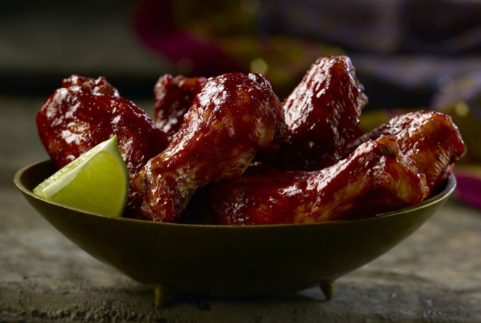 Slow Cooker Barbecue Wings
