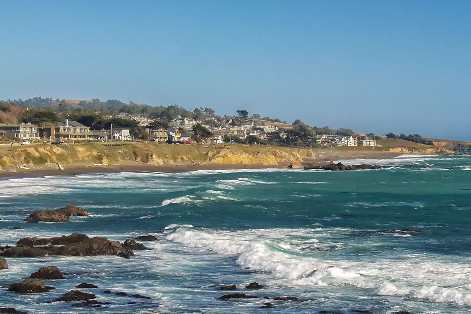 Moonstone Beach at Cambria