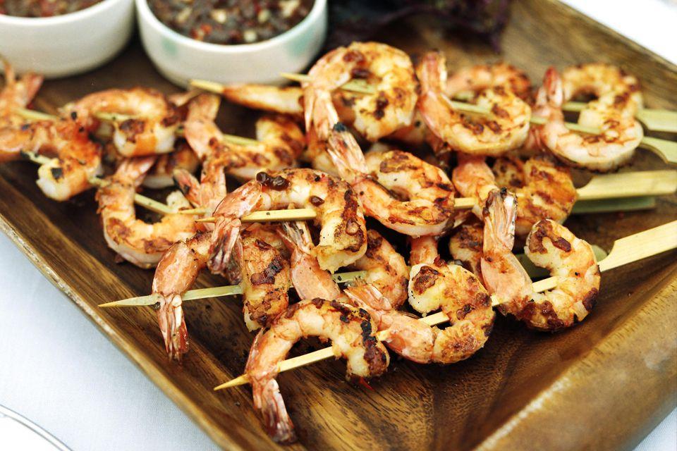 Pan-Grilled Barbecue Shrimp Recipe