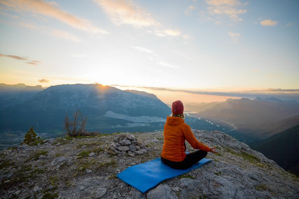 Meditation can be helpful to relive anxiety.