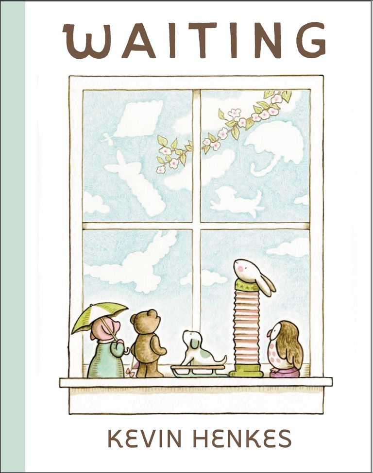 Waiting by Kevin Henkes - picture book cover