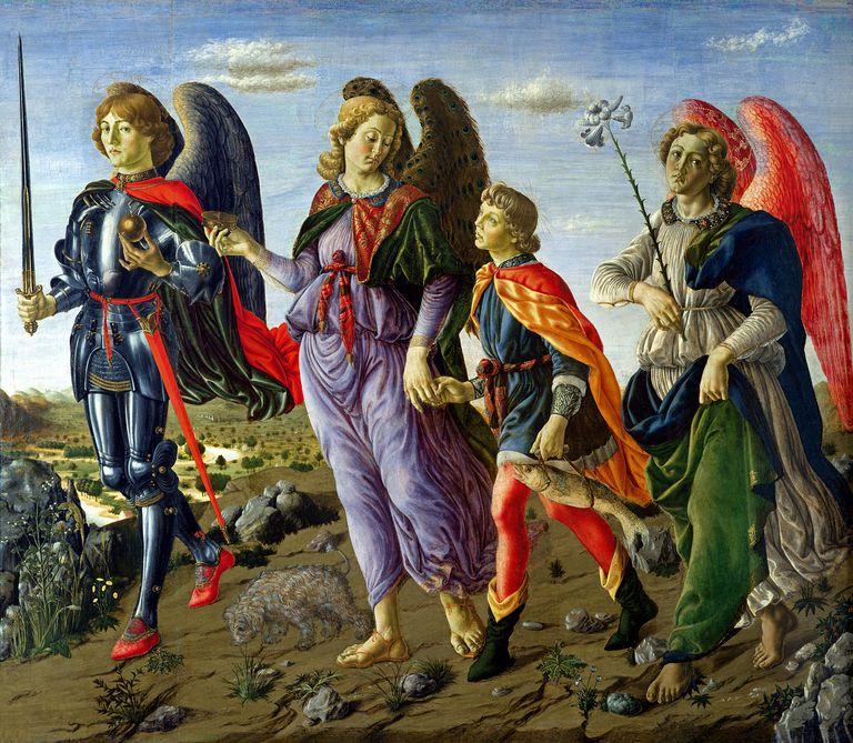 Los tres Arcángeles y Tobías