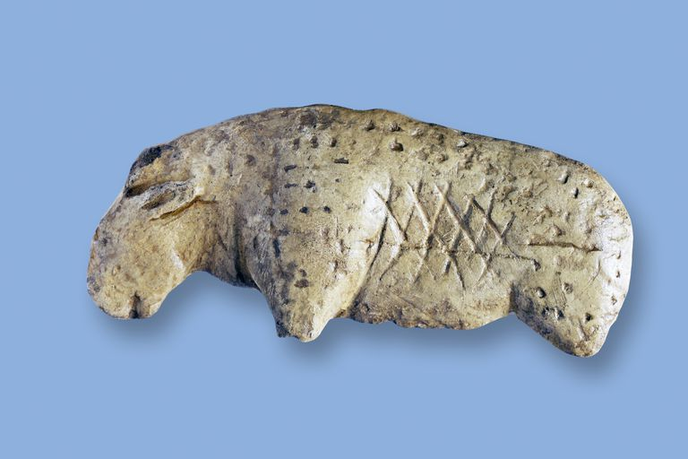Lion Figurine from Vogelherd Cave