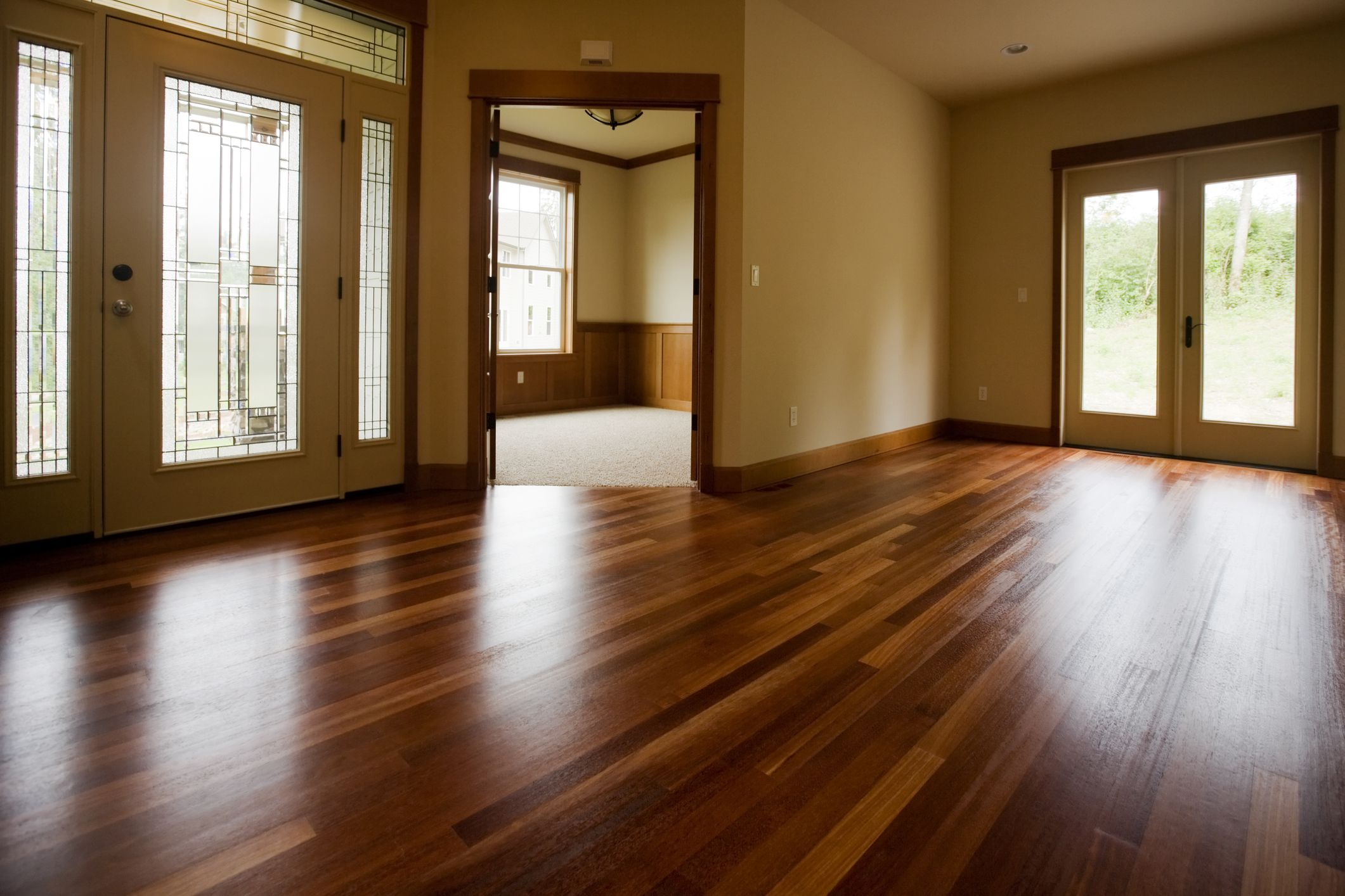 Use Caution When Steam Cleaning Hardwood Flooring