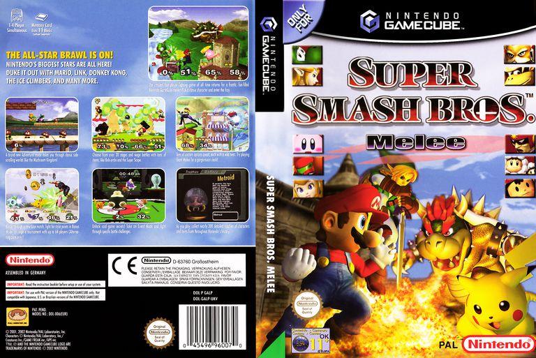 Super Smash Bros cover