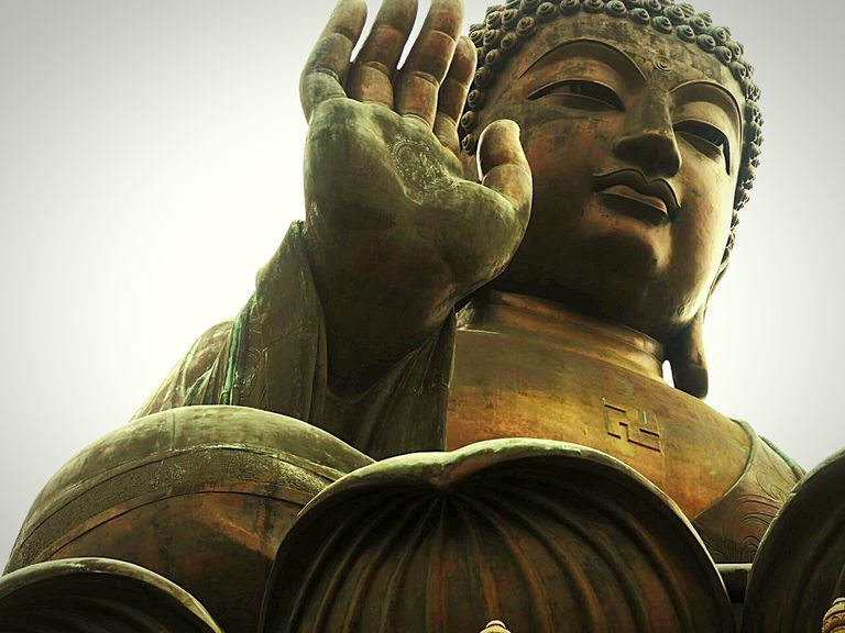 Bronze is used in statues and art. It starts out a golden bronze color, eventually developing a green patina.