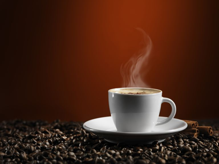 gluten-free cup of coffee