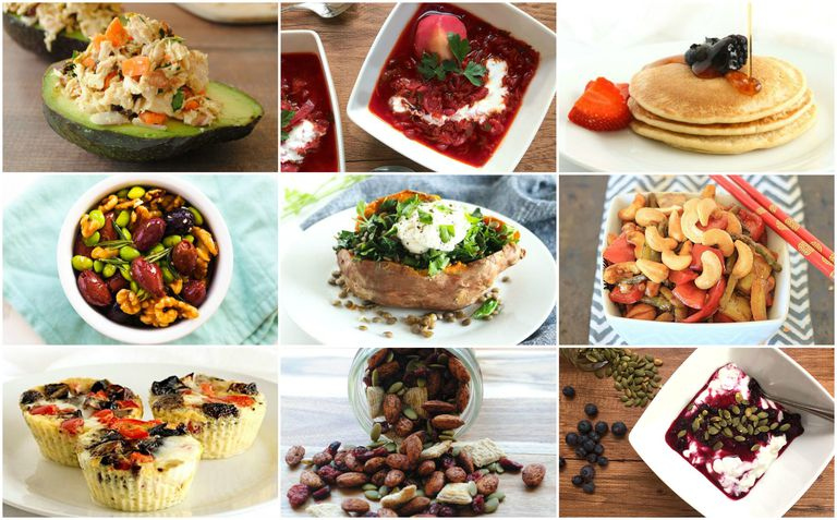 meal plan photo collage