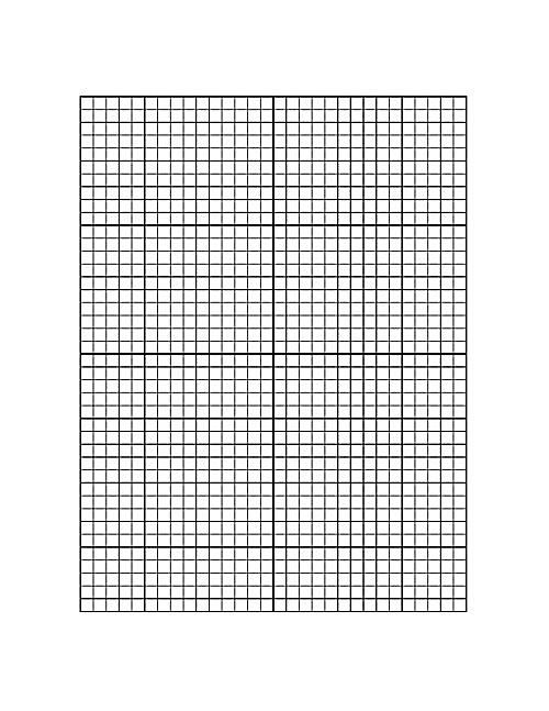 Downloadable Graph PaperPrintable Graph Paper With Axis