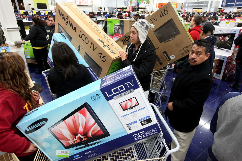 'Black Friday' Marks Start Of Holiday Shopping Season