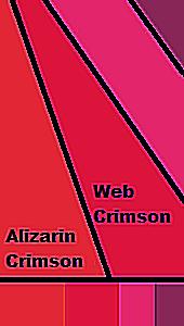 Color Crimson shades