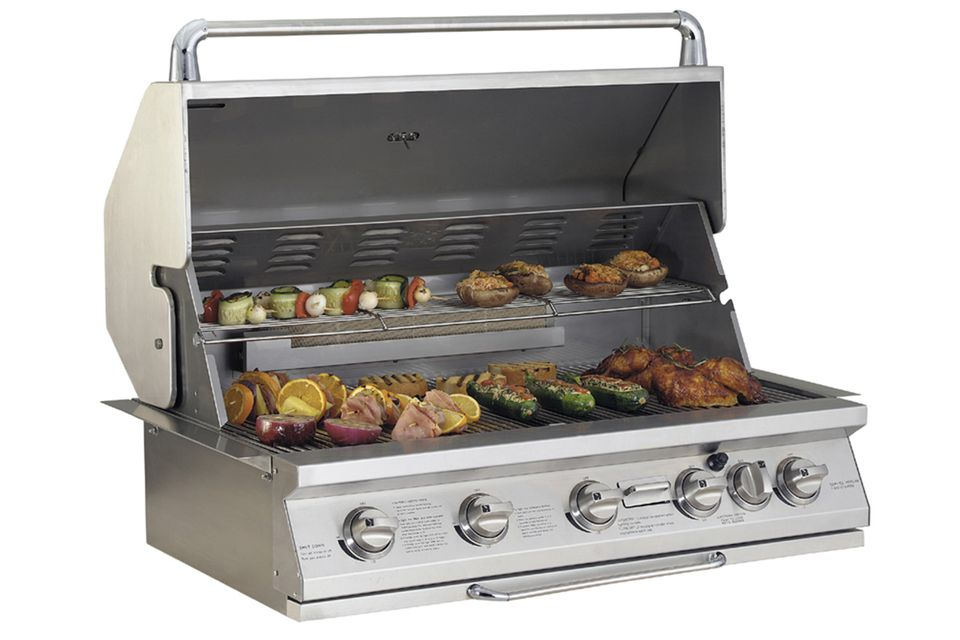 jenn air grill jenn air 60 000 btu 5 burner gas grill review 10645