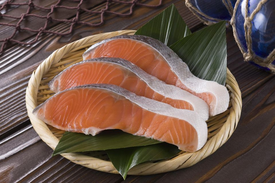 Sliced Silver Salmon