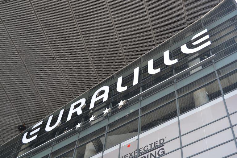 Signage detail, Euralille