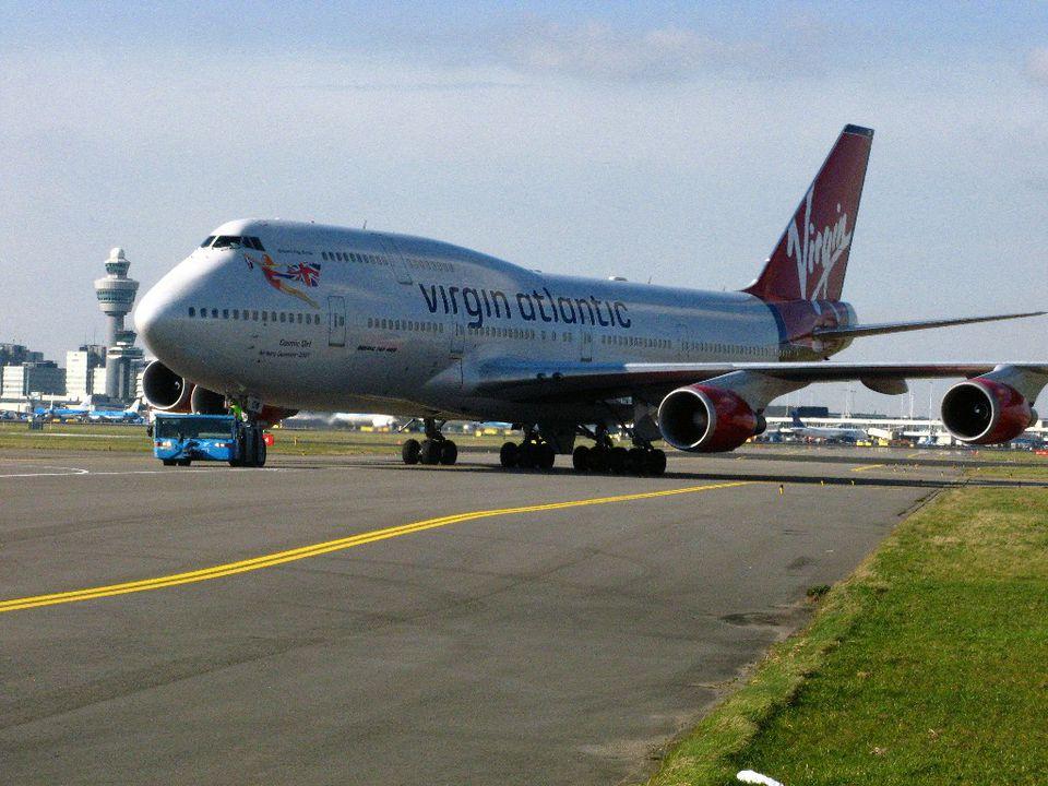 Virgin Airlines Owner Island