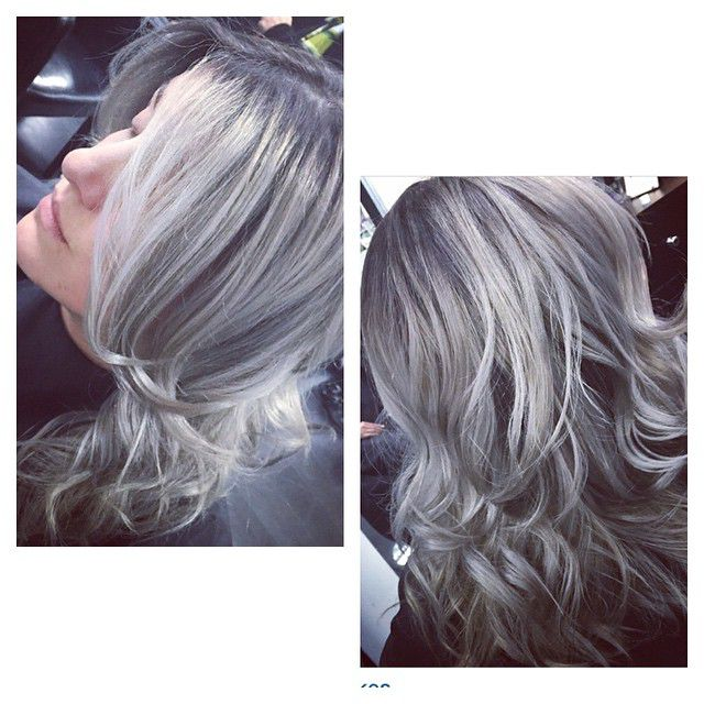 hair dye style names 16 ways to rock the gray hair color trend 8264