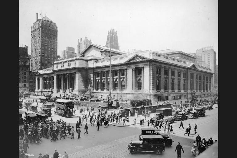 New York Public Library, mid 1920s