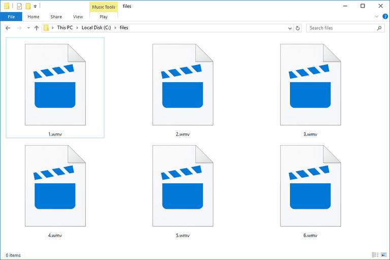 WMV Files