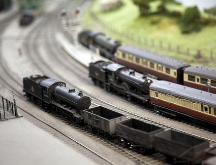 Understanding Scale With Model Trains