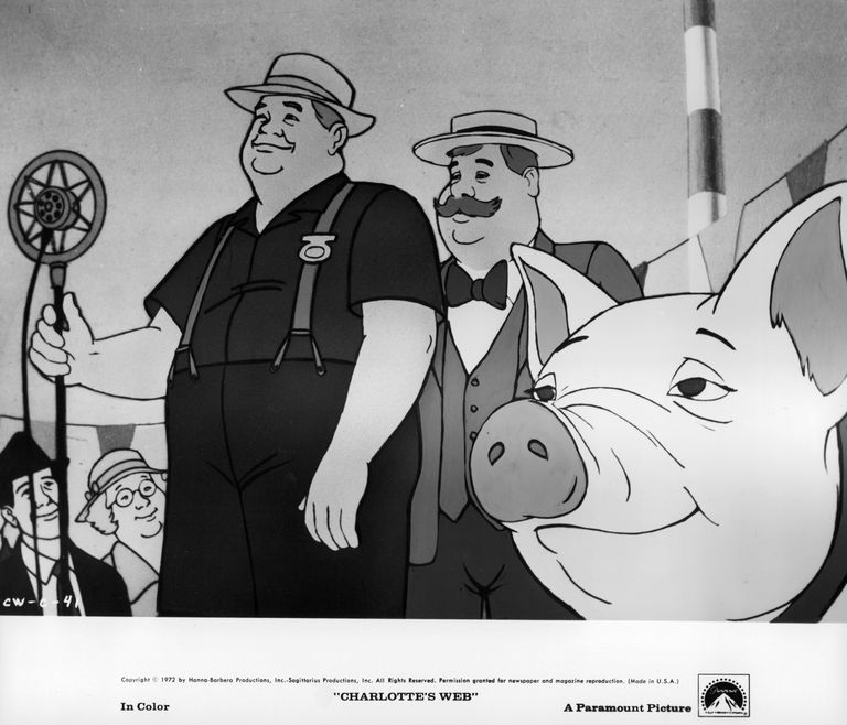 Wilbur Pig Goes To The Fair In 'Charlotte's Web'