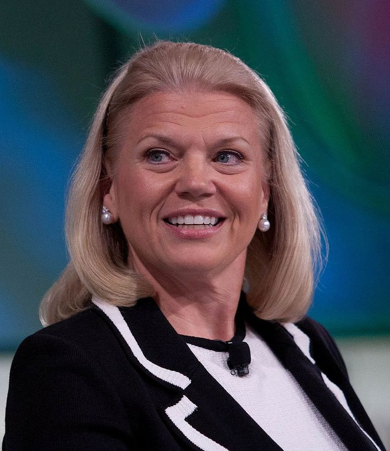 Ginni Rometty of IBM in 2011 during