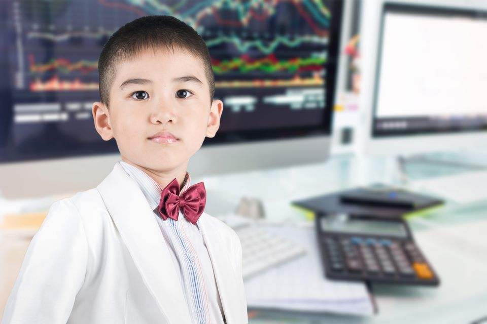 Kids Investing in Stocks