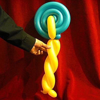 how to make a balloon monkey