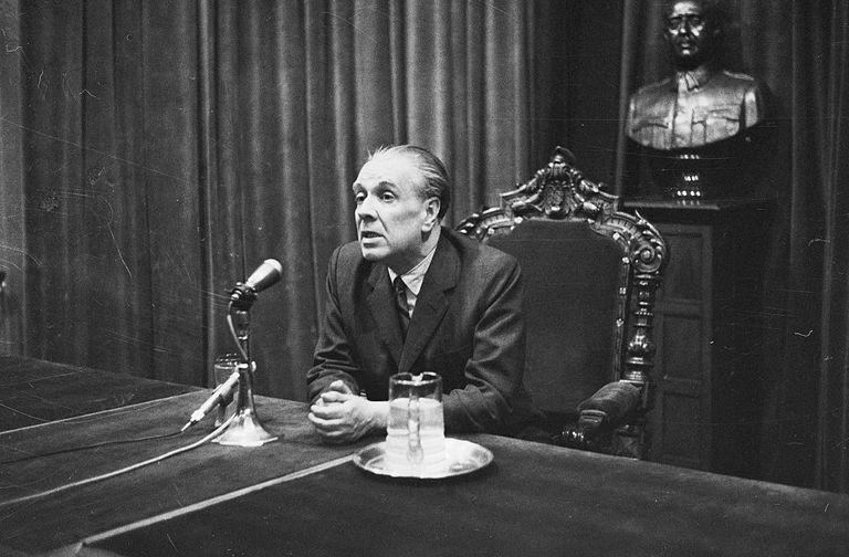 Poet Jorge Luis Borges